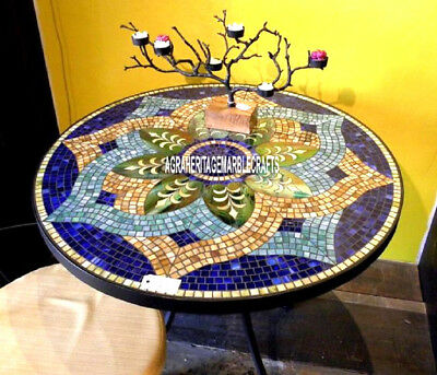 collectible marble dining top table marquetry inlaid art living room decor h3879