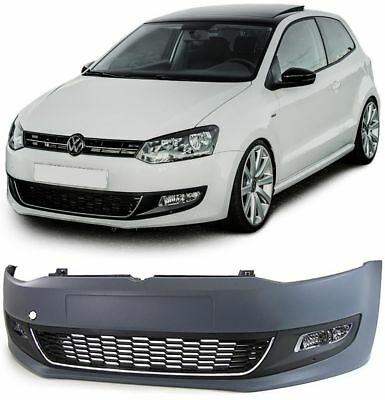 front bumper fog lights and grills vw polo 6r 09 14