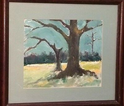 """Listed Charles M. Brown Oil Painting Charlie Brown"""" Potter Jacksonville Florida"""
