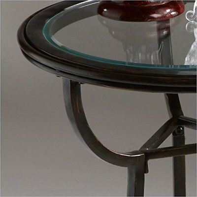 Butler Specialty Company Metalworks Accent Table, Black