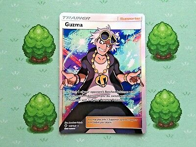Pokemon - Guzma - 143/147 - SM Burning Shadows - Full Art