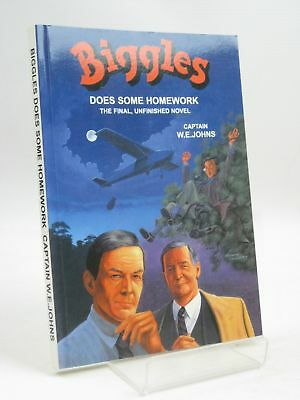 Biggles Does Some Homework - Johns, W.e. & Wright, Norman & Schofield, Jennifer.