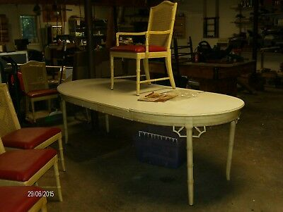 Dining Table And  6 Chairs 1973 Thomasville Allegro