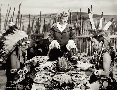 Lucille Ball Press Photo 1942 Valley Of The Sun Sniped Stamped Rko Thanksgiving