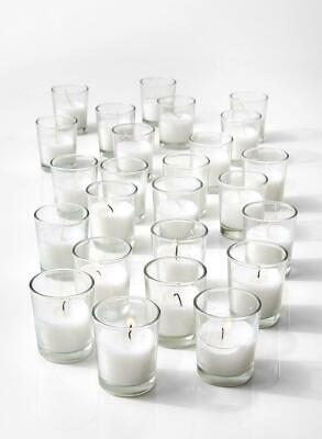Serene Spaces Living 10-hour White Unscented Votive Candles In Set Of 100 – Clas