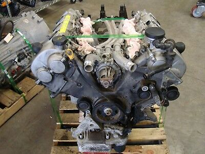 2006 Porsche Cayenne Turbo 162k Engine Motor Longblock Long Block Oem Lot359