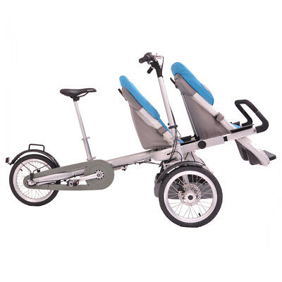 Comfort 250w/36v Convertible Walking Or Riding Electric Bike Ebike Baby Stroller