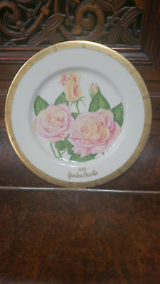 1976 Yankee Doodle American Rose Society Collectible Plate
