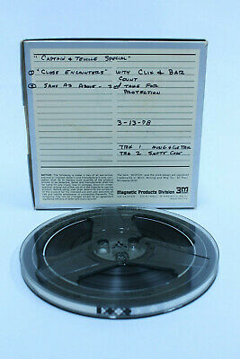 Daryl Dragon Captain And Tennille Special Close Encounters Reel To Reel Tape