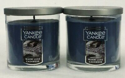 2 Yankee Candle Warm Luxe Cashmere Scented Candle Small Tumbler Jar 7 Oz