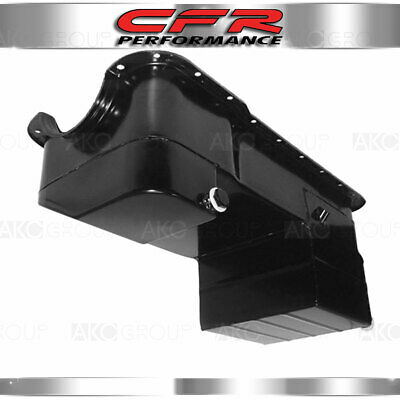 Fits 1979-1993 Ford Sb Small Block 351w Engine Windsor Drag Racing Oil Pan Black