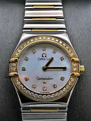 Omega  Mother Of Pearl Constellation My Choice, Lady's Watch