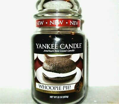"""Yankee Candle Retired """"whoopie Pie""""~ Large 22 Oz ~white Label~ Rare~vhtf~ New"""