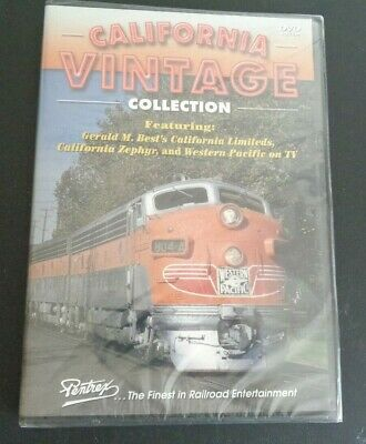 California Vintage Collection Railroad Trains Dvd Limiteds Zephr Western Pacific
