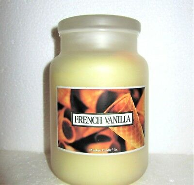 "Yankee Candle Retired ""french Vanilla"" Aroma Formula~large 22oz~frosted Jar~rare"