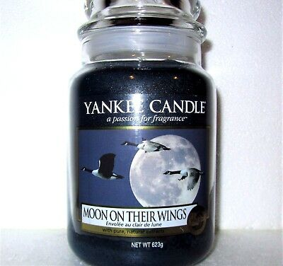"""Yankee Candle """"moon On Their Wings""""~my Favorite Things~ Large 22 Oz ~white Label"""