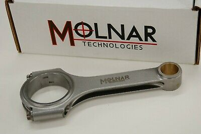 """Molnar 6.125"""" Billet Connecting Rods For Ford 351 Windsor - Chevy W/ford Offset"""