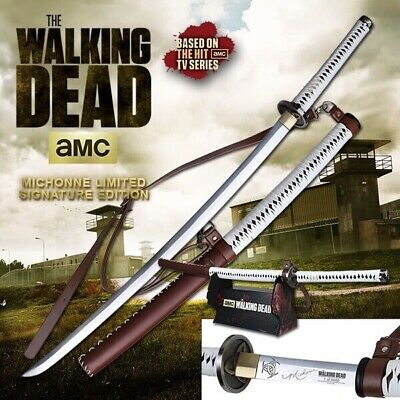 Michonne's Katana Walking Dead Master Cutlery Amc Licensed 1 Of 5000!! Rare!!!