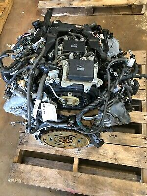 2007-2009 Lexus Ls460 4.6l Vin L, 5th Digit Engine Assembly Complete Motor Oem