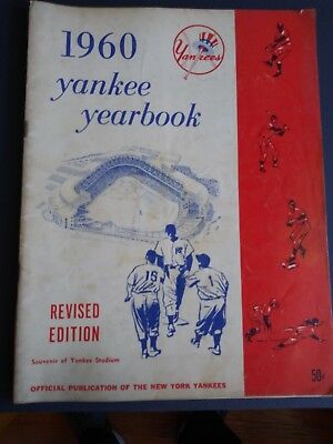 1960 New York Yankee Yearbook Revised Edition- Very Nice Condition Overall