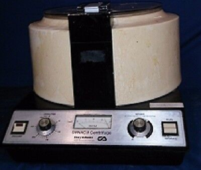 Clay Adams, Dynac Ii, Centrifuge, Benchtop Complete With Rotor Setup.