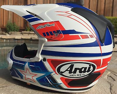 Arai Vx Pro 4 Yankee Free Ship Option Mx Motorcycle Helmet (not Nicky 7) Medium