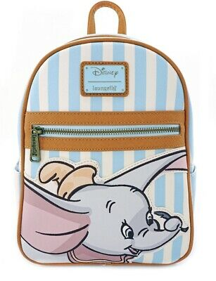 Our Favorite!!  New With Tags Loungefly Disney Dumbo Striped Mini Backpack!