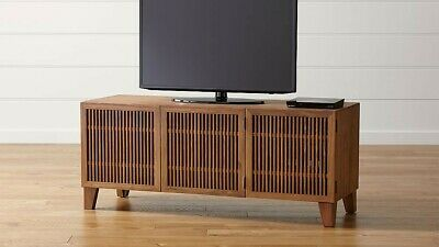 """Crate And Barrel Furniture Media Console 58"""" - Tv Stand - Perfect - Local Only"""