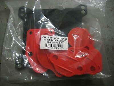 Small Block Chevy Engine Block Off Kit-4150 Holley Carb  Jaz 730-001-01