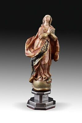 Immaculate Virgin. Polychromed Wood. Spain, 17th Century.
