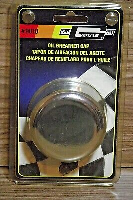 Mr. Gasket Chrome Plated Oil Breather Cap 9810 New In Sealed Package B2