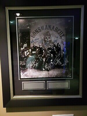 Sons Of Anarchy Cast Multi Signed  Photo  Autographed