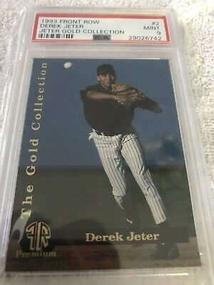 1993 Front Row Gold Collection #2 Derek Jeter Psa 9 Mint Greensboro Tampa Yankee
