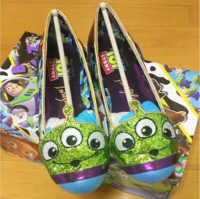 Irregular Choice Disney Toy Story Alien Pumps Shoes Size 37 Us 6.5 Pixar