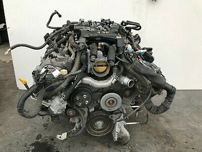 Lexus 2011 Ls460 Rwd 4.6l Engine Motor Block 1ur-fse Assembly 93k Oem