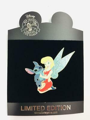 Vhtf Disney Store Ap Artist Proof Jumbo Tinker Bell As Lilo With Stitch Le Pin