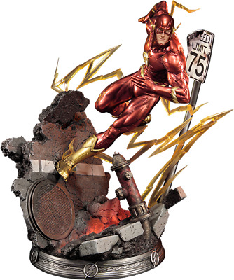 The Flash Statue First 1 Studio Sideshow Collectibles Justice League New 52 Dc