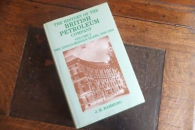 The History Of The British Petroleum Company Volume 2 J.h. Bamberg 1st Edition