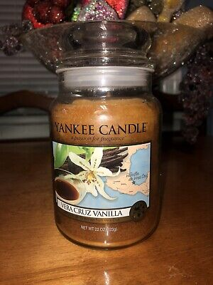 Yankee Candle 22oz Vera Cruz Vanilla Rare Hard To Find Scent And Jar