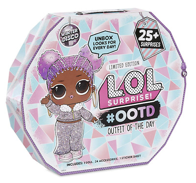 Lol Surprise Doll 2019 #ootd Winter Disco Outfit Of The Day Free Priority Ship