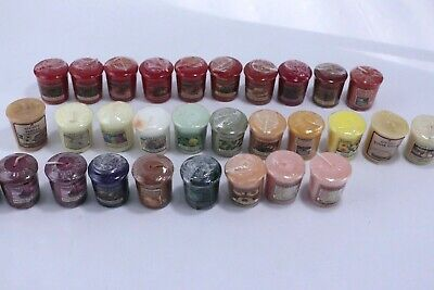 (30) Yankee Candle Votive Sampler Mixed Variety Fragrance All Sealed