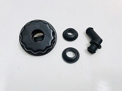 Ford Xy Autolite Oil Breather Cap With 45 Degree Outlet Suit 351 Cleveland Zd V8