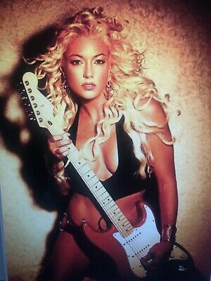 2007 Fender Stratocaster Candy Apple Red Usa/bret Michaels Autographed/rockof❤️
