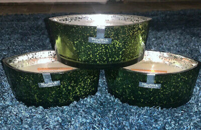 Lot Of 3 Woodwick Limited Edition 16 Oz Hearthwick Frasier Fir Yankee Candle