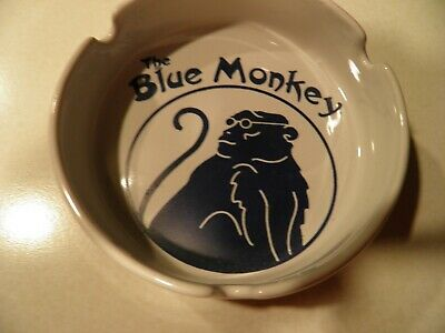 The Blue Monkey Memphis Tennessee Ashtray Excellent Condition