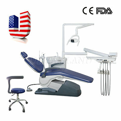 Dental Unit Chair Computer Controlled A1 Hard Leather Fda Ce Approved 1-5days Us