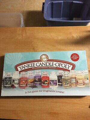 Yankee Candle-opoly 40th Anniversary New! Still In Original Wrap! Free Shipping
