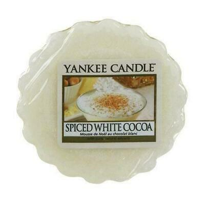 Yankee Candle Wax Melt Wax Tarts Spiced White Cocoa X 24 New
