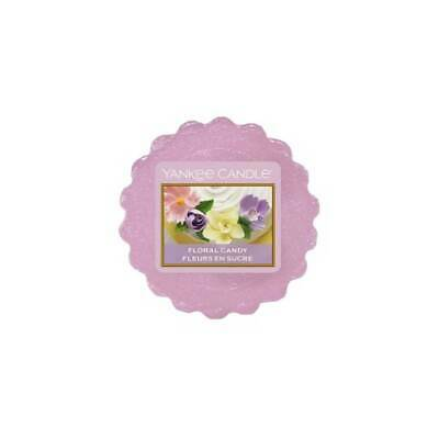Yankee Candle Wax Melt Wax Tarts Floral Candy Lilac Colour X 24 New