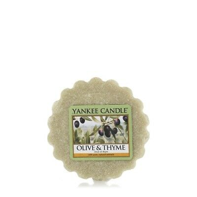 Yankee Candle Wax Melt Wax Tarts Olive And Thyme X 24 New